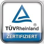 TÜV – Zertifizierung
